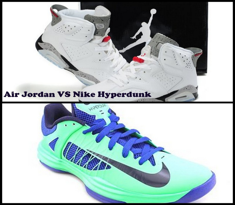 Nike Hyperdunk vs Air Jordan review
