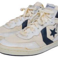 basketball shoe memoribilia